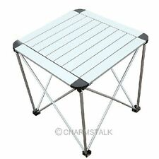 Portable Outdoor Garden Roll Up Folding Camping Picnic Dining Table Aluminum