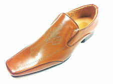 New Men's formal Smart Casual office work party Slip On Shoes w3 Cr Browns