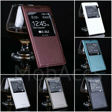 SAMSUNG GALAXY S5 I9600 LEATHER S VIEW FLIP CASE COVER