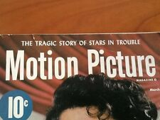 "1950's 1960's MOTION PICTURE MAGAZINE FAMOUS HOLLYWOOD MOVIE STARS ""Golden Years"