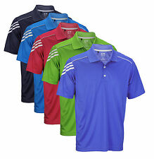 Adidas Athletic Men's Climacool 3-Stripes Polo Shirt - Multiple Colors