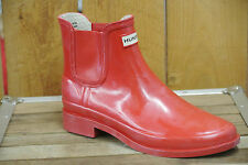 Hunter Boots Bradwell Red Short Boots, EU Sizes 37,39,40/41,42