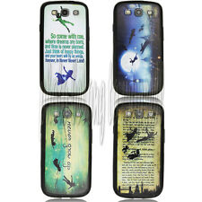 Peter Pan Quotes desgin Durable case for Samsung Galaxy S3 i9300 01269