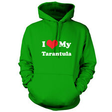 I Love My Tarantula - Unisex Hoodie - 9 Colours - Spider - FREE UK Delivery