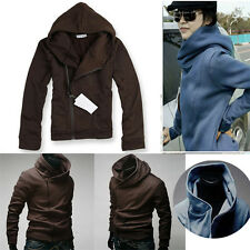 Pay Attention !Hot!JS Handsome Hooded Luxury Sexy PJ Mens Hoodies Coats 5 Colors