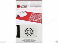 Martha Stewart Crafts Punch All Over Page - Aspen Flurry OR Crochet Star Pattern