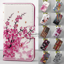Magnetic Flip Stand Leather Wallet Slot Card Hard Case Cover For SONY XPERIA E1