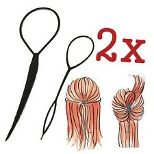 Pack of Topsy Tail Hair Braid Pony Tail Maker Styling Tool Fashion Salon A0141
