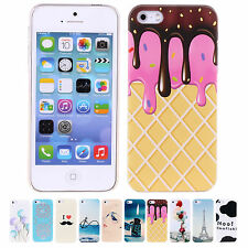 Cheap New Dust Proof Cute Case Durable Shell Back Covers For Apple iPhone 5 5S