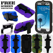 SALE SURVIVOR MILITARY DUTY SHOCK PROOF CASE COVER FOR SAMSUNG GALAXY S3 I9300