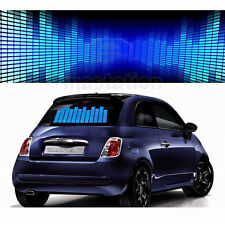 Blue Light  LED Car Auto Vehicle Music Rhythm Lamp Sound Activated Equalizer