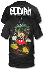 ZODIAK SICFUC CLOTHING ELECTRIC CHAIR  MICKEY MOUSE TATTOO SCENE HIP HOP T SHIRT