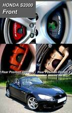 SupergraphicsF1 brake caliper decal stickers for Honda S2000 front & rear option