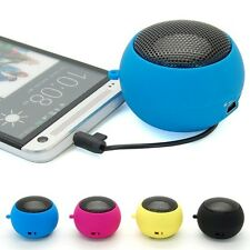 Portable Mini Hamburg USB 3.5mm Stereo Speaker For Samsung Galaxy S5 S V i9600