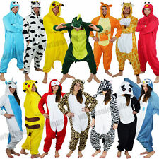 Animal Onesie All In One Adult Pyjama Fancy Dress Costume Zoo Onesies Kigurumi