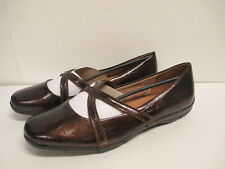 Life Stride Devlin Loafer 10 W Bronze Man Made Upper New with Box