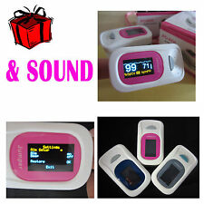 4 Direction OLED Fingertip Pulse Oximeter Blood Oxygen SPO2 PR monitor +Alarm
