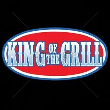 Crewneck Sweatshirt King Of The Grill Barbecue BBQ Food Meat Cookout Camp Smoke