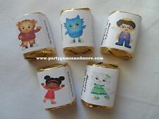 30 PERSONALIZED DANIEL TIGER'S NEIGHBORHOOD PARTY FAVOR NUGGET CANDY LABELS