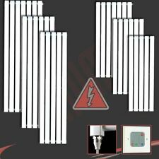 Corwen White Electric Prefilled Vertical Panel Radiators with Heating Elements
