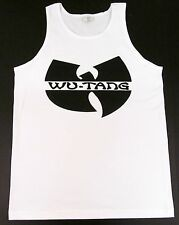 WU TANG CLAN Tank Top Rap Hip Hop Gza Rza ODB T-shirt Adult Mens S-2XL White New