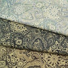 Vintage Paisley Floral 100% Cotton Fabric