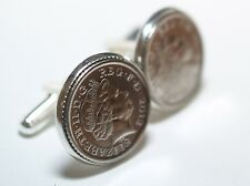 Wedding Anniversary Cufflinks. Tin Crystal Paper Cotton Leather Bronze Copper
