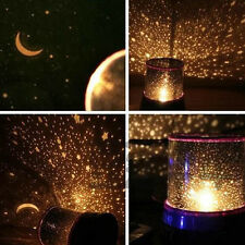 Romantic Kids Sky Star Moon LED Starry Night light Cosmos Master Projector Lamp