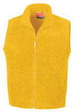Result Mens Ladies Dark Yellow Fleece Bodywarmer/Gilet