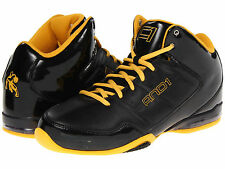 AND1 AND 1 Mens D1060BBY Master Mid Basketball Shoes [ Black / Gold ]