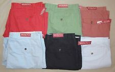 NEW Mens Merona colored cotton shorts flat front, cargo or tailored NWT