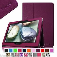 """Lenovo IdeaTab S6000 10.1 inch 10"""" Tablet Leather Case Cover Accessories Stand"""