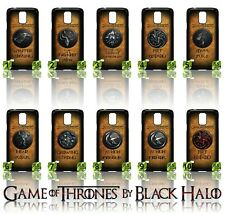 NEW) ★ GAME OF THRONES ★ COVER/CASE FOR SAMSUNG GALAXY S5/SV/I9600 (HOUSES)