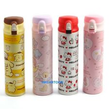 HELLO KITTY MELODY POM POM PURIN 400ML STAINLESS STEEL COLOR PICTURE VACUUM CUP