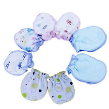 Baby Soft Cotton Newborn Infant Anti-Scratch Handguard Mittens Glove Gift