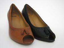 Clarks Wedge Peep Toes Women Dublin Whirl