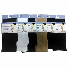 12 Pairs of Ladies Trouser Knee High Socks, Size 9-11