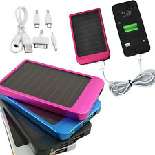 Multi Function Panel USB Power Solar Bank Battery Charger for Cell Phone MP3