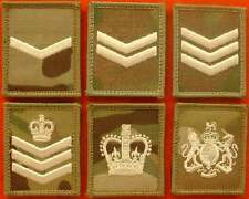 Velcro Backed WO`S & NCO`S Multicam MTP UBACS Patch Ivory UBACS British Army