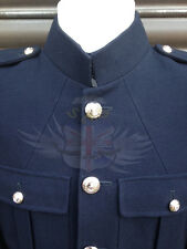 ROYAL MARINES SURPLUS No.1 BLUES UNIFORM DRESS TUNIC WITH BUTTONS-PARADE/NAVY