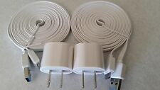 2x 10FT Micro USB 3.0 Cables+2 Wall Chargers For Samsung Galaxy S5 / Note III 3
