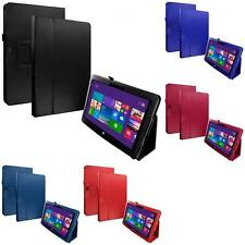 For Microsoft Surface RT 10.6 Tablet Color Flip Stand Leather Case Cover Pouch