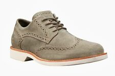 Timberland Earthkeepers Stormbuck #5829R Brogue Oxford Casual Shoes Taupe 10.5