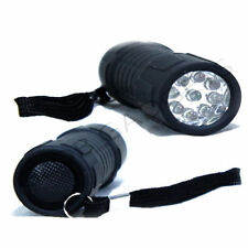 SURPER BRIGHT TORCH 9 LED  + BATTERIES TORCHES CAMPING FLASHLIGHT LIGHT LAMP
