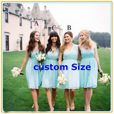 Custom size Formal Party Prom Dress Evening Gown Cheap Short Bridesmaid Dresses
