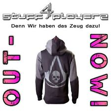 Assassin's Creed IV Hoodie / Kapuzenpullover Black Flag Logo (L/M) (NEU)