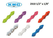 "KMC Chain Z410 1/8"" x 1/2"" Colored Moped Scooter Motobecane Motomarina Sebring"