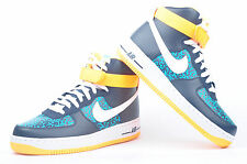 Mens Nike Air Force 1 High 07 Obsidian White Turbo Green Atomic Mango 315121-409
