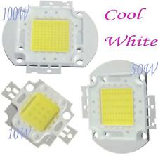 10W 50W 100W  LED High Power LED Cool White Ultra Bright SMD Chip Light Bulb DIY