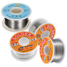 63/37 Tin/Lead 0.8mm Rosin Core Flux Solder Soldering Wire Reel